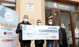 Da Conad Nord Ovest 76.400 euro alla Caritas per il Piemonte e la Valle d'Aosta