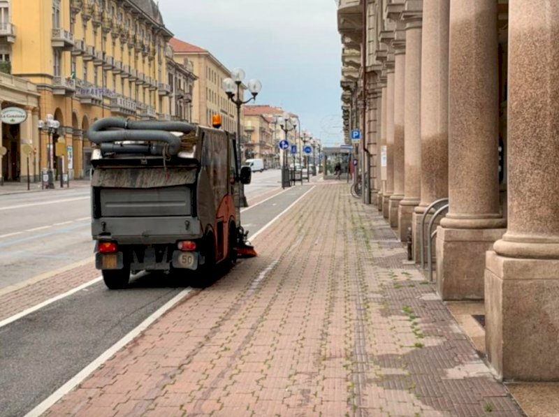Cuneo, tornano i divieti di sosta per la pulizia strade sull'altipiano e nelle frazioni