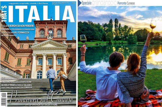 Turismo, la provincia di Cuneo protagonista sulla rivista 'That's Italia'