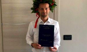 Pallavolo, il vice allenatore della Bosca San Bernardo si è laureato in Scienze dell'Esercizio fisico