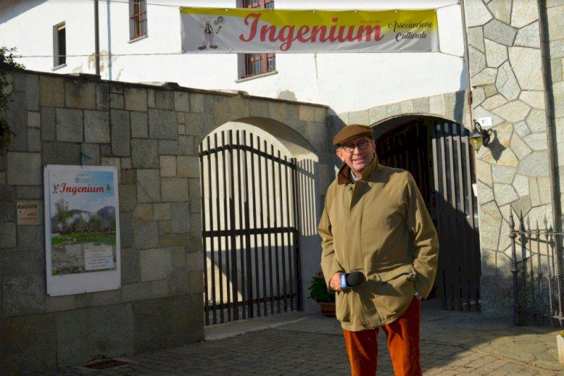 Nella fotografia il conduttore televisivo Marco O. Graziano all'ingresso del Museo di Ingenium