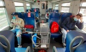 Campionamenti dell'aria sul treno Cuneo-Torino, nessuna traccia di Sars-Cov-2