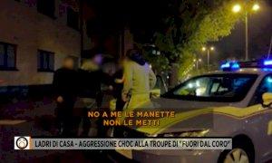 Prima dell'aggressione alla troupe Mediaset le minacce e gli insulti al padrone di casa