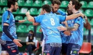 Pallavolo A2/M: domenica Cuneo contro Reggio Emilia per accedere alle semifinali playoff