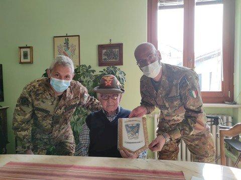 La visita al reduce Domenico Gastaldi