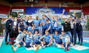 Pallavolo A2/M: Cuneo regola i conti con Reggio e vola in semifinale playoff