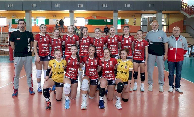 Pallavolo, settore giovanile: cinque vittorie per la Bosca Cuneo Granda Volley