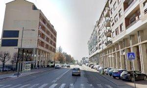Si scava per posare la fibra ottica, mercoledì un tratto di Corso Nizza resta chiuso