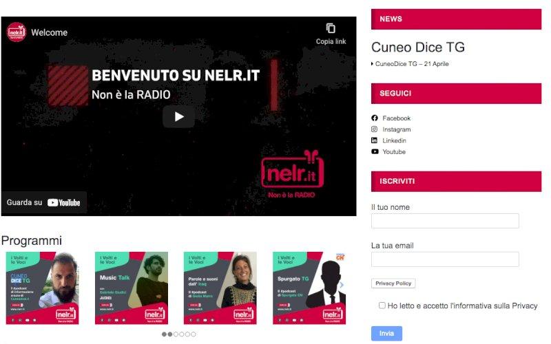 Da oggi su Nelr il podcast di informazione locale a cura della redazione di Cuneodice