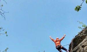Scalatrice infortunata sulla falesia di Lungaserra a Barge, interviene il Soccorso alpino