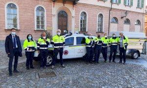 Cuneo, un nuovo automezzo per il Gruppo comunale di Protezione Civile del Comune