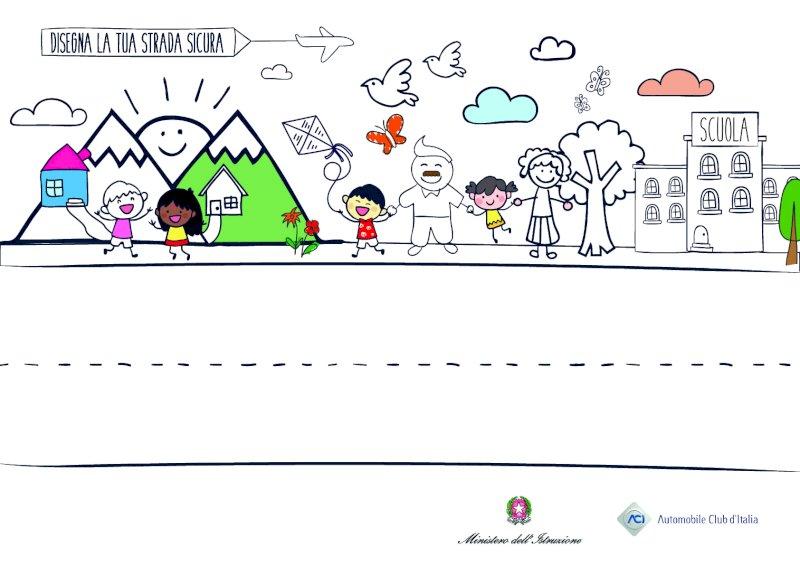 """Aci Cuneo invita le scuole primarie cuneesi a partecipare a """"Disegna la tua strada sicura"""""""