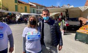 Italexit a Fossano a fianco dei fieristi:
