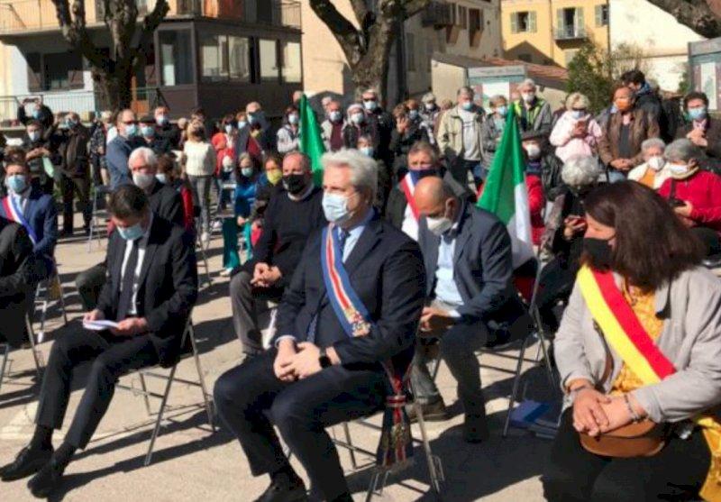 Borgna a Tenda per la riapertura della ferrovia Cuneo-Breil-Nizza (senza Ventimiglia)