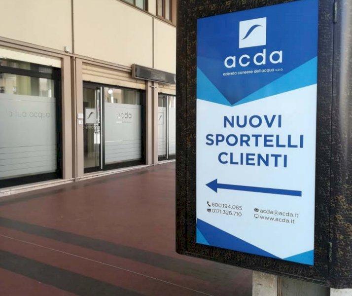 Cuneo, lo sportello clienti dell'ACDA si trasferisce in corso Nizza 77