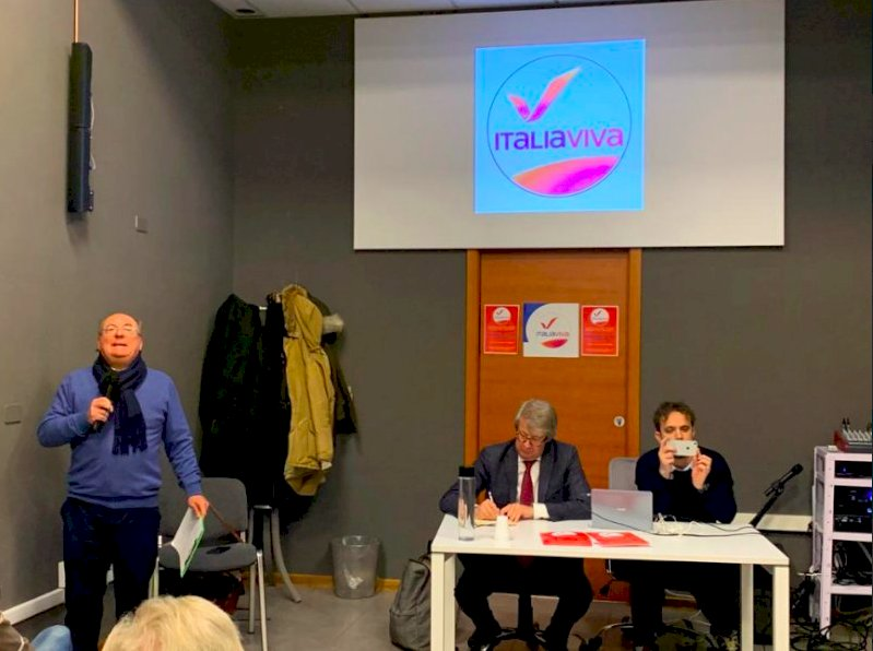 Cuneo, Italia Viva scende in piazza e incontra la cittadinanza