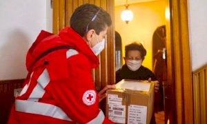 I volontari della Croce Rossa sono