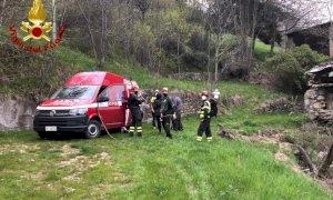 Recuperate dai Vigili del Fuoco tre persone disperse a Celle Macra