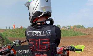 Motocross, buon risultato in Lombardia per Fabrizio Fissolo