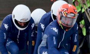 La nazionale azzurra di bob in raduno a Mondovì