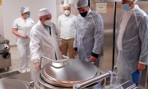 Inaugurato il nuovo centro di cottura all'ospedale di Saluzzo