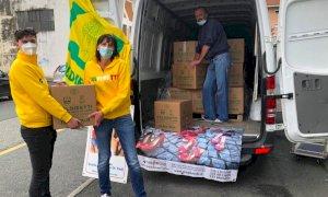 Da Coldiretti 3 mila kg di aiuti alimentari a mamme e nuclei familiari in difficoltà