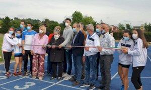 Bra, inaugurata la nuova pista di atletica