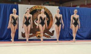 Sofia Raffaeli e la squadra nazionale juniores di ginnastica ritmica ospiti della ASD Cuneoginnastica