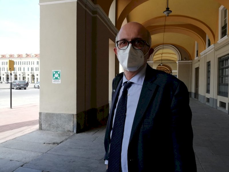 in foto: l'avvocato Stefano Campanello