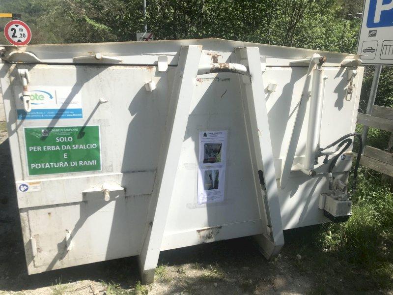 Sampeyre attiva il servizio stagionale di raccolta e smaltimento di erba da sfalcio e potatura di rami