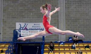 Sofia Ambrosio e Sara Hadouz al Campionato Italiano Allieve Gold di ginnastica artistica