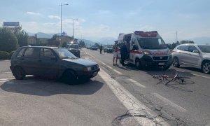 Incidente a San Defendente di Cervasca: una donna alle cure del 118