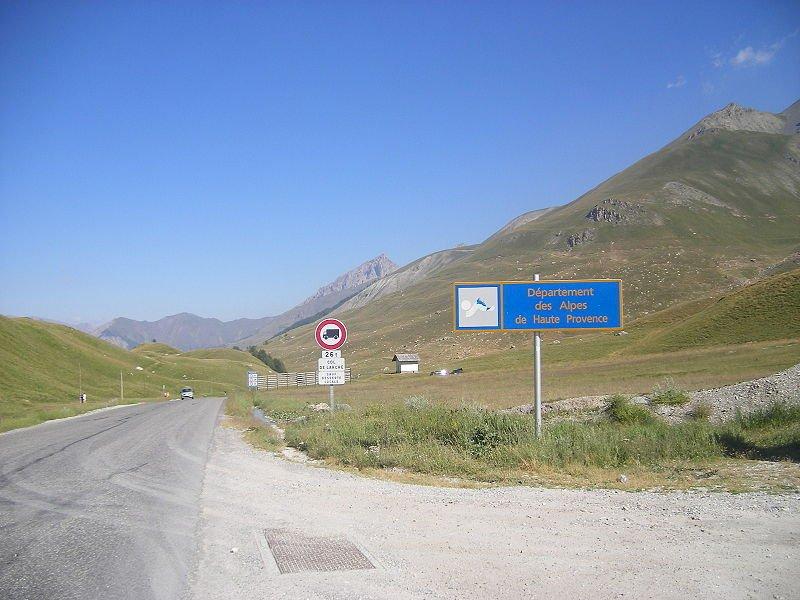 Lunedì la strada del colle della Maddalena chiude nel tratto francese per lavori