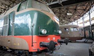 Rappresentanti del Consiglio regionale in visita al Museo ferroviario di Savigliano