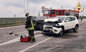Fossano, tre feriti nello scontro tra due auto sulla Statale 231