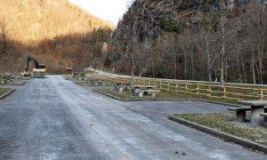 Grazie alla raccolta fondi su Satispay ricostruita l'area di sosta a Pian Laiardo di Ormea