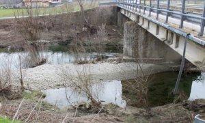Lavori post alluvionali nel Belbo e nel Bormida a Camerana, Monesiglio e Saliceto