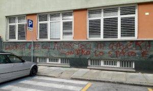 Assolti quattro militanti anarchici per le scritte davanti al Tribunale civile