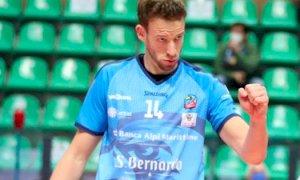 Volley, Preti continuerà a vestire la maglia di Cuneo