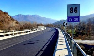Proseguono i lavori dell'Anas lungo la statale 20 in valle Vermenagna