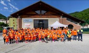 SpazzaMondo, anche Frabosa Sottana si è colorata di arancione: raccolti oltre settanta sacchi di immondizia