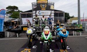 Motociclismo, la Black Racing Squadra Corse torna da Vallelunga leader in Coppa Italia