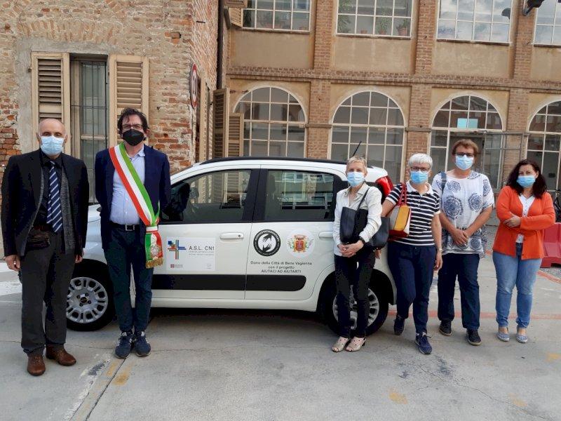 Dal Comune di Bene Vagienna un'auto per il distretto Fossano-Savigliano dell'Asl CN1