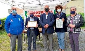 Consegnato il Premio Fedeltà ai Veterani Sportivi a Mario Sanino