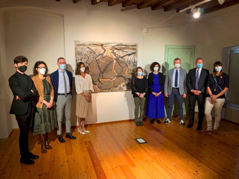 La programmazione culturale della Fondazione CRC riparte da un'opera di Anselm Kiefer