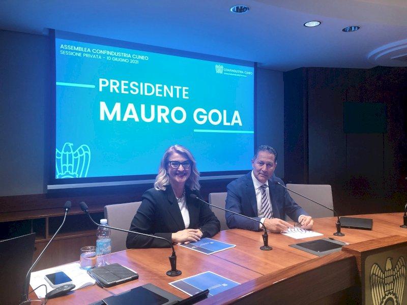Mauro Gola presidente di Confindustria Cuneo fino al 2023: la conferma all'unanimità