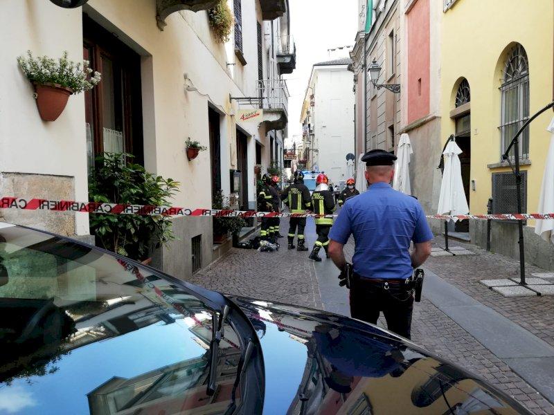 Cuneo, fuga di gas in via Dronero: evacuato un palazzo