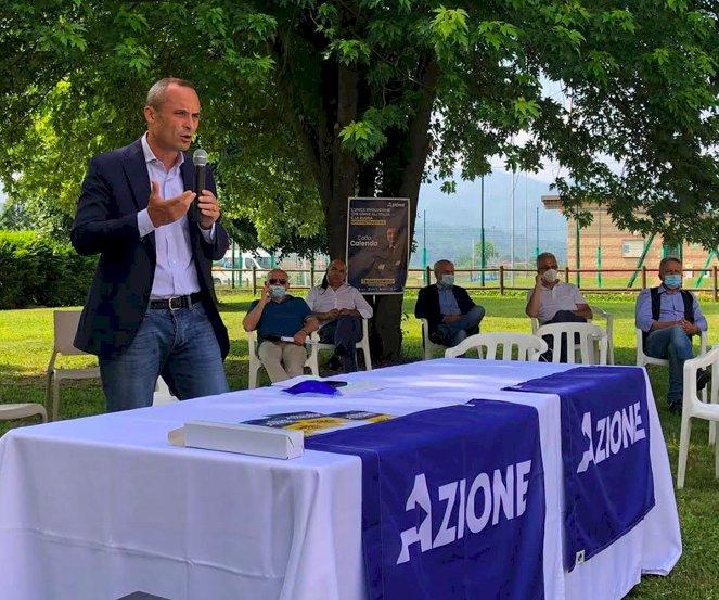 """A Mondovì la prima assemblea provinciale di Azione, Costa: """"Una fortuna avere Draghi premier"""""""