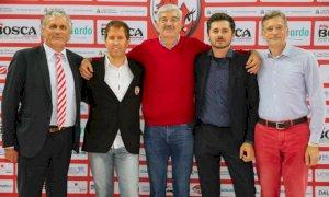 Pallavolo A1/F: il vicepresidente di Cuneo Patrizio Bianco ai saluti