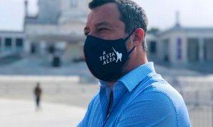 """Salvini sarà a Cuneo per il processo contro De Benedetti: """"Rinvio il vaccino"""""""